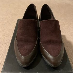 Lord & Taylor brown loafer